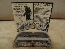 DEATH METAL NO.1 Compilation Promo MC CASSETTE NOCTURNUS, MORTIFY UNIQUE !!!