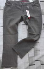 Sheego Jeans Hose Stretch Gr. 48 bis 58 Grau (404) (333) (297) (251) NEU