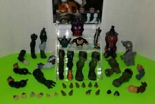 Marvel Legends DCUC BAF action figure parts lot heads fodder Thanos Hulk HUGE