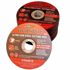 10 X Metal Cutting Disc Flat Blade Stainless Steel 115mm Air Cut off Thin 4 1/2""