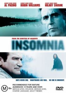 INSOMNIA starring Robin Williams (DVD, 2003) - LIKE NEW!!!