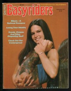 1977 September Easyriders - Vintage Motorcycle Magazine with David Mann Poster