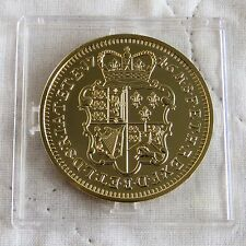 RE GIORGIO II 1746 LIMA 5 GHINEE HM Argento Placcato Oro prova dal OML
