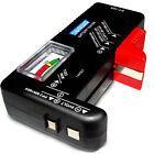 Hot Digital LCD 9V AA AAA C D Universal Button Battery Tester Checker BT-168