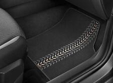 """Original SEAT Textilmatten Fußmatten Set Satz """"Arrows"""" schwarz Ibiza 2018, Arona"""