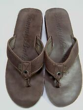 Tommy Bahama Men's Size 13 Cocoa Brown Flip Flops Shoes  #1 B