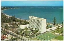 Postal de Puerto Rico. Americana Hotel. Isla Verde, San Juan de Puerto Rico