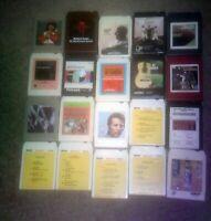 8 Track Tape Lot of 21 Al Hirt Herb Alpert Lear Jet  Sergio Mendes Bob James