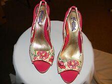 women's hale bob heels new size 7 1/2 m  4 inch heel