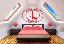 Charlton Atheletic FC Football Badge Wall Art Sticker Vinyl Decals