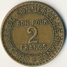 COIN / FRANCE / 2 FRANCS 1923  #WT8170