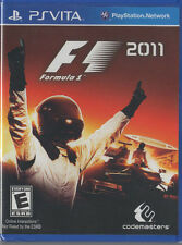 F1 2011 (Sony PlayStation Vita) PS Vita Neu Versiegelt Videospiel Formel 1 Racing