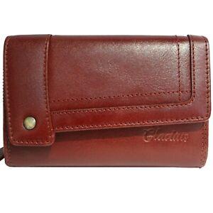 GLADIUS ✳ Geldbörse Geldbeutel Portmonee für Damen Frauen Leder Neu