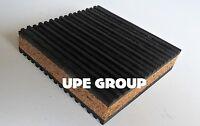 1 Anti Vibration isolation pad rubber/cork 4x4x7/8 HOME AUDIO STERO HVAC