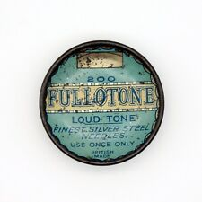 GRAMOPHONE NEEDLE TIN - Fullotone - Loud Tone Gramophone Needles [NEEDLE TIN]
