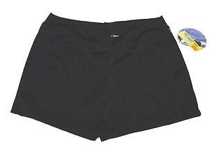 Capezio BoyCut Booty Shorts Low Rise Yoga Activewear Stretch   New Women Plus 2X