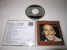 PAUL ANKA/THE BEST OF PAUL ANKA(BUDDAH RECORDS CDAX 701455) AUSTRALIAN CD ALBUM