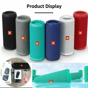 Portable Waterproof Bluetooth PartyBoost Speaker Black & Colours JBL Flip 4