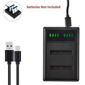 USB Dual Battery Charger for SX-50 SiOnyx Aurora color night vision camera