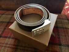 """Genuine Men's Louis Vuitton Belt Black 38-44"""" Waist With Original box"""