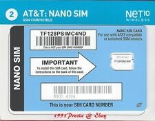 Net10 Nano For At&T Compatible Phone ( Bring Your Own Phone )