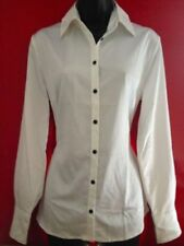 Waist Length Collared Tops & Shirts for Women with Buttons