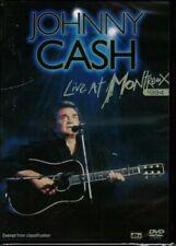 Johnny Cash Live at Montreux 1994 DVD Region 0