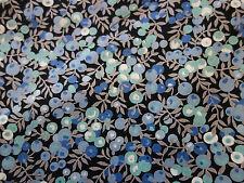 Liberty Stoff, Wiltshire Berry in blau, 50x90 cm Baumwolle