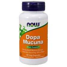 Mucuna Dopa, 90 Veg Capsules - NOW Foods