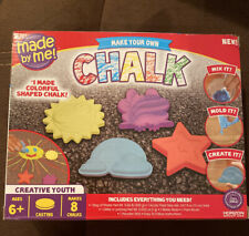 Make Your Own Chalk Arts And Crafts For Girls Boys Kids Diy Kit Fun Play