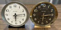 PAIR Vintage Westclox Big Ben Made in USA Wind Up Alarm Clock
