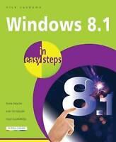 Nick Vandome, Windows 8.1 in easy steps, Paperback, Very Good Book