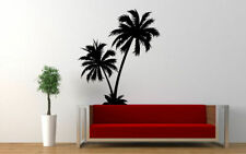 Wall Art Vinyl Room Decor Sticker Decal Mural Palm Tree Beach Nature Art bo2236