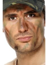 Army Make Up Adult Unisex Smiffys Fancy Dress Costume Accessory