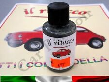 VERNICE RITOCCO SMALTO FIAT 500 CINQUECENTO D'EPOCA GRIGIO MEDIO COD 653 30ml