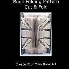 Book Folding Pattern - Mark Measure Cut & Fold - Union Jack Flag