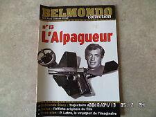 FASCICULE BELMONDO COLLECTION N°13 L'ALPAGUEUR   H5