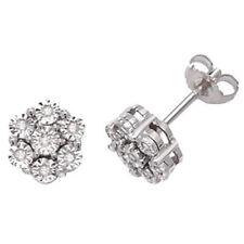 Pendientes de joyería con diamantes mariposa de oro blanco no aplicable