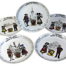 Set of 5 Vintage Choucroute Sauerkraut Dishes Alsace France Porcelain Chauvigny