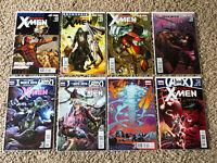 Uncanny X-men (2012) 8 Issue Lot Gillen/Pacheco-  High Grade