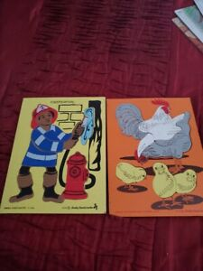 Lot of 2 Instructo Preschool Puzzles