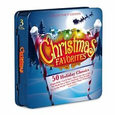 50 CHRISTMAS FAVORITES 101 STRINGS ORCHESTRA COLLECTORS EDITION HOLIDAY 3-CD SET