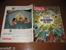 EPOCA 1962/631=SPECIALE AUTOMOBILE=YEMEN=SALVATORE QUASIMODO=FRANCA RAME=