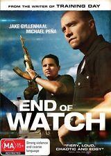 Ex-rental End Of Watch (DVD, 2013) Jake Gyllenhaal