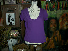 LOOMSTATE Sweet Purple Tee Shirt Size M