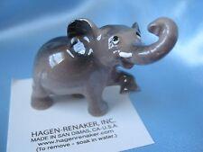 Hagen Renaker Baby Elephant  Figurine Miniature Ceramic Item #308 NEW