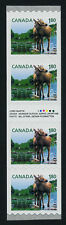 Canada 2509i Gutter strip/Inscription MNH Moose, Baby Animal