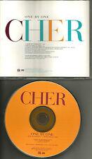 CHER w/ MELLE MEL One By One 1996 USA PROMO Radio DJ CD Single PROCD 8015