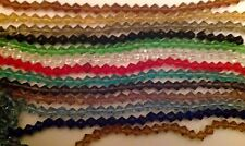 200 pcs Crystal Glass Beads 6mm Bicone for bracelet Necklace - Colour options