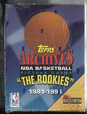 "1993 TOPPS ARCHIVES ""THE ROOKIES"" BASKETBALL BOX- JORDAN'S 1ST TOPPS CARD RARE"